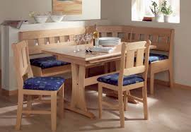 Banquette Dining Set by Dining Tables Rounded Upholstered Bench Wood Bench For Dining