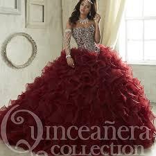 quince dress aliexpress buy maroon quinceanera dresses 2017 sweep