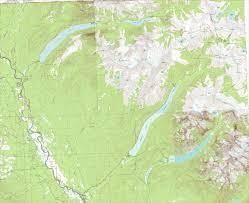 Glacier Park Map Bowman Kintla Hike Glacier National Park