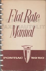1959 pontiac air conditioning repair shop manual original