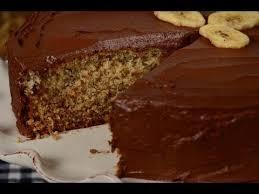 banana cake recipe demonstration joyofbaking com youtube