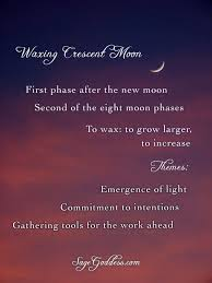 waxing crescent phase spells for every occasion