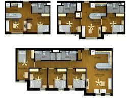 west village halls housing ttu