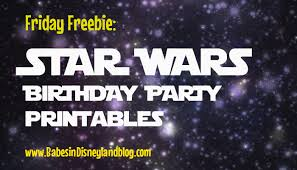 free star wars birthday party printables invitations