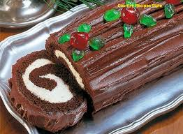 fast and easy christmas yule log cake country recipes style