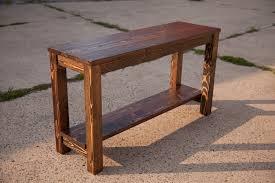 thin sofa table long farmhouse sofa table u2014 farmhouse design and furniture