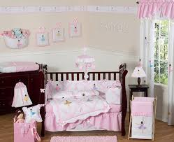 Ballerina Nursery Decor Pink Ballerina Ballet Dancers Baby Crib Bedding Set For