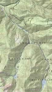 Lake Washington Map by Greenwater Lakes Echo Lake Norse Peak Wilderness