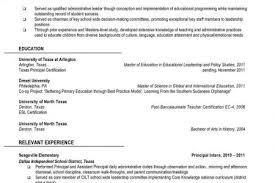 Assistant Principal Resume Sample by Sample Resume Assistant Principal Resume Objective Vice