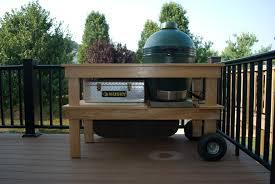 xl big green egg table plans pdf big green egg table plans