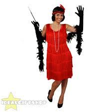 halloween costumes flapper ladies deluxe flapper fancy dress costume 1920 u0027s charleston gatsby