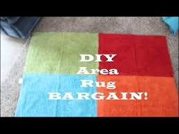 Diy Area Rug Bargain Diy Area Rug So Less Than 7