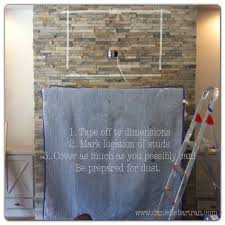 cover for wall mounted tv made how to mount a flat screen tv on a stone fireplace diy