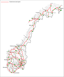 Map Of Norway Map Of Norway Street Map Worldofmaps Net Online Maps And