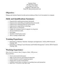 staff accountant resume objective accounting resume clerk entry level internship sle