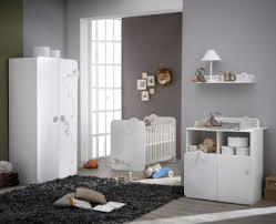 chambre à coucher bébé pas cher chambre bébé complète contemporaine blanche woody chambre bébé