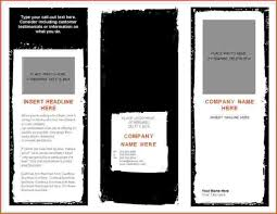 5 brochure template for word bookletemplate org