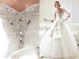 wedding dresses with bows discount custom made european style strapless wedding