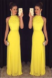 yellow dresses for weddings 25 best yellow evening dresses ideas on yellow prom