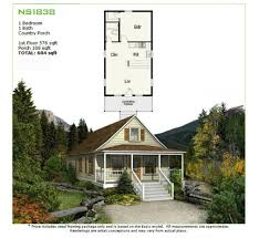 prefab homes panelized framing kit ns1838 576 sq ft 1br 1ba