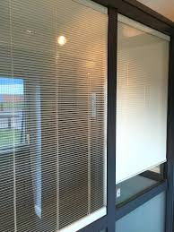 window blinds between the glass window blinds partitions with