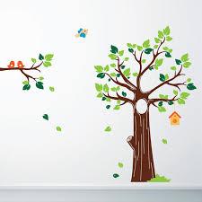 xl plum blossom wall sticker giant blossom tree wall decor jungle tree wall sticker