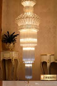 hotel decoration modern luxury gold led crystal chandeliers light