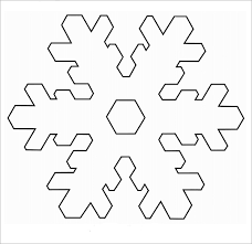 snowflake template snowflake template free printable snowflake