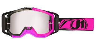 pink motocross goggles just1 racing goggles iris