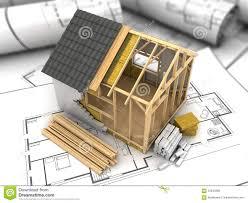 frame house plan stock illustration image frame house plan