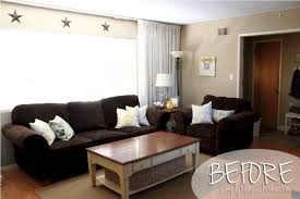paint colors for living room with dark brown couch aecagra org