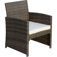 table pour canapé ensemble salon de jardin 4 places canapé 2 fauteuils et table