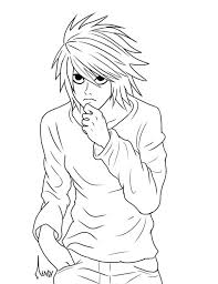 pictures death note coloring pages 66 coloring books