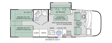 Thor Fifth Wheel Floor Plans by Floor Plans Vegas 24 1
