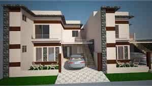 7 marla house design model front elevation pinterest design