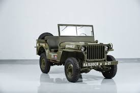 first willys jeep 1941 jeep willys mb military motorcar classics exotic and