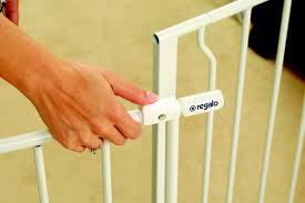 Extra Wide Pressure Fit Safety Gate Regalo Easy Open 50 Inch Super Wide Walk Thru Gate Description And