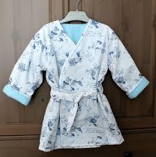 robe de chambre enfants douillette robe de chambre crabig et brinig