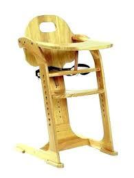 chaise haute b b en bois chaise en bois bebe distinguac chaise haute bacbac bois chaise haute