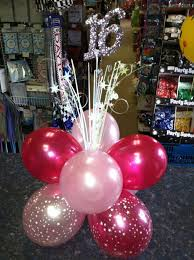 balloon centerpiece ideas sweet 16 balloon centerpieces search projects to try