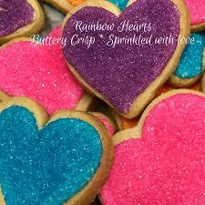 heart shaped cookies rainbow sprinkle heart shaped cookies superlove cookies