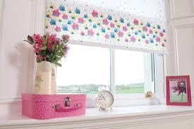 Colourful Roller Blind Bathroom Bathroom Roller Blinds Uk 79 White Pink Green Floral Patterned