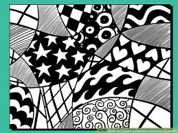 how to create a random abstract drawing 11 steps with pictures