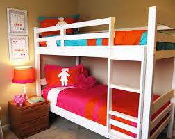 3 Way Bunk Bed Bedroom Adorable Kids Panda Bunk Teen Girls Bedroom Ideas