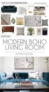 boho addict fb boho addict modern boho living room on a budget room makeover reveal postbox