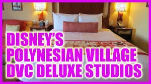 deluxe studio tour polynesian village villas u0026 bungalows youtube
