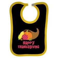 baby s 1st thanksgiving baby bib has turkey in a pumpkin