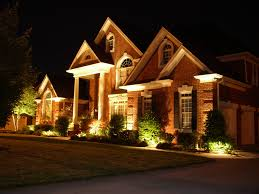 house architectural outdoor lighting design exterior inside