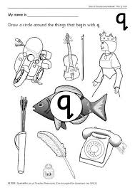 letter q phonics activities and printable teaching resources