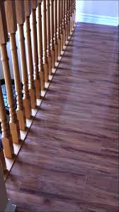 Replace Stair Banister Chic Installing Laminate Flooring Around Stair Spindles Need